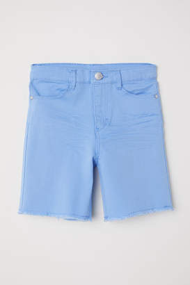 H&M Twill Shorts - Blue