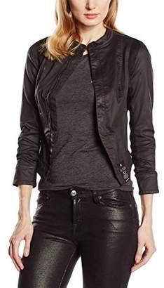 G Star G-Star Women's Denim Long Sleeve Coat - Black