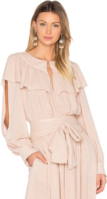 See By Chloe Ruffle Top $320 thestylecure.com
