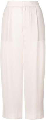 Vince high waisted cropped trousers