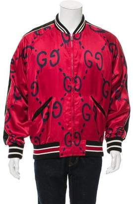 Gucci 2016 Ghost Bomber Jacket