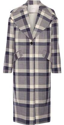 ADAM by Adam Lippes Plaid Wool-Blend Coat