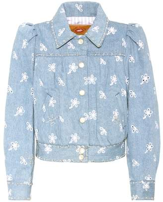 Marc Jacobs (マーク ジェイコブス) - Marc Jacobs Embellished denim jacket