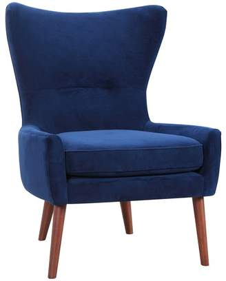 Luna Velvet Wing Back Chair