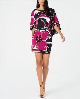 Trina Turk Casablanca Floral-Print Boat-Neck Dress