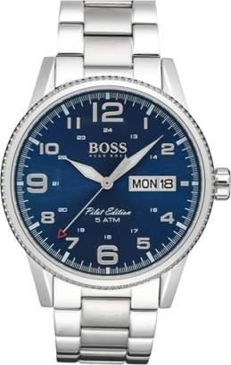 BOSS 'Pilot' Watch, 44mm
