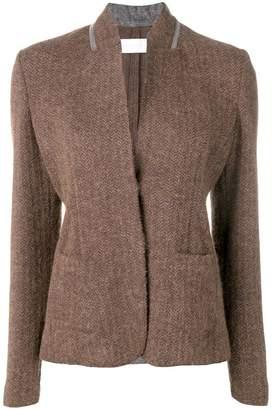 Fabiana Filippi rhinestone embellished blazer