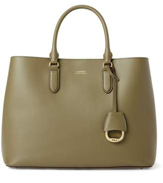 Ralph Lauren Marcy Leather Satchel