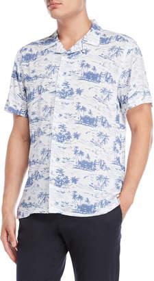 Nickel & Iron Wave & Palm Tree Shirt