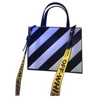 Off-White Off White White Plastic Handbag