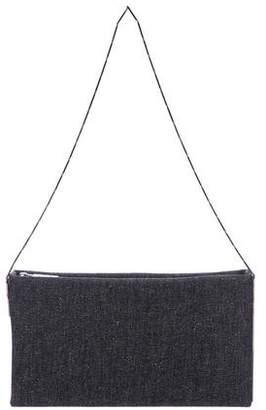 Lanvin Denim Zip Shoulder Bag