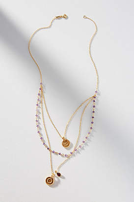 Satya Sun + Moon Layered Necklace