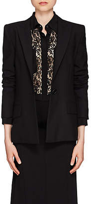 Givenchy Women's Wool One-Button Blazer - Black