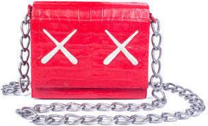 Nancy Gonzalez KAWS XX Gio Crocodile Crossbody Bag