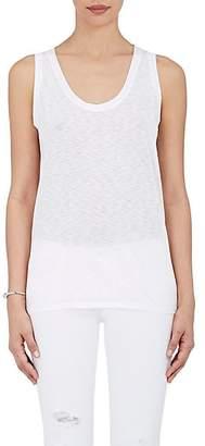 Barneys New York Women's Cotton-Modal Scoopneck Tank - White