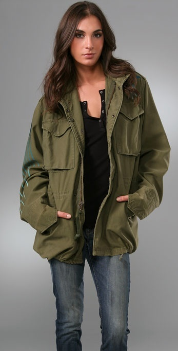 Freecity Greens Peace Corps Jacket