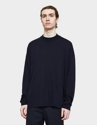 Jil Sander Crewneck Sweater in Dark Navy
