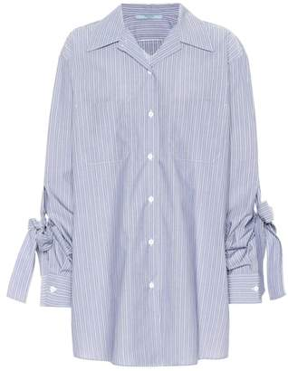 Prada Striped cotton shirt