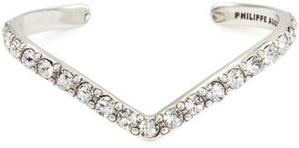 Philippe Audibert 'Bonnie' Swarovski crystal V-shaped cuff