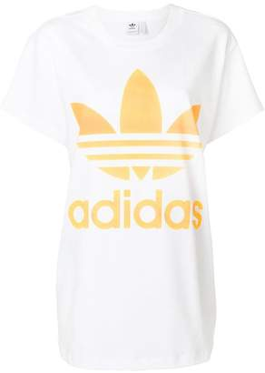 adidas printed logo T-shirt