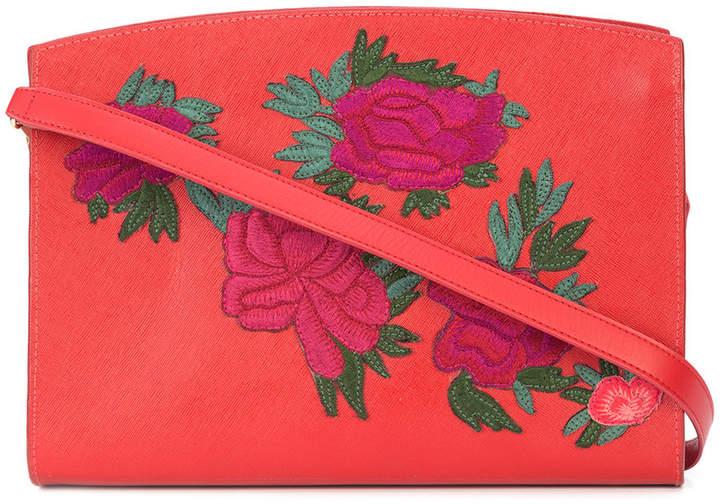 Lizzie Fortunato fire floral leisure shoulder bag