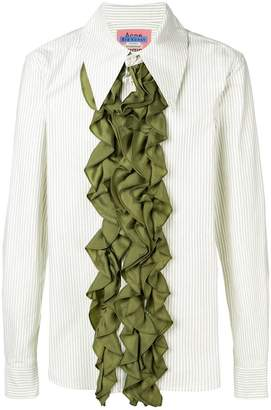 Acne Studios ruffled front shirt