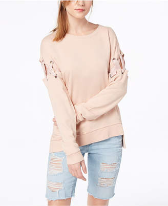 Joe's Jeans The Alice Lace-Up Sweatshirt