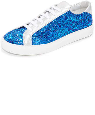 South Parade Glitter Lace Up Sneakers