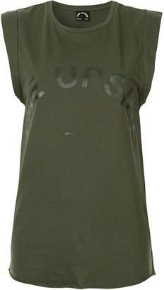 The Upside printed logo tank top