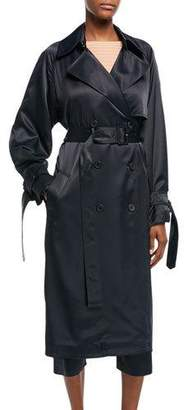 Vince Drapey Belted Trench Coat