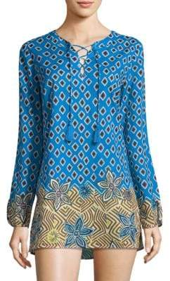 Tory Burch Jacinta Cotton Tunic