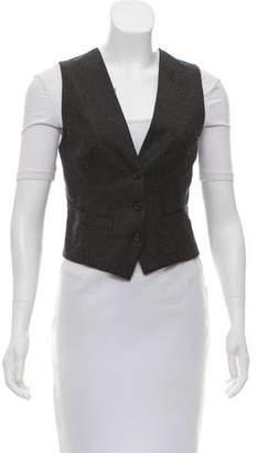 Alexander McQueen Embellished Wool Vest