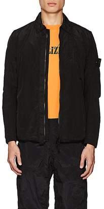 Stone Island Men's Washed Tech-Fabric Shirt Jacket