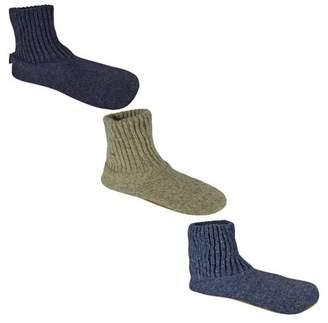 Muk Luks Men's Wool Slipper Socks