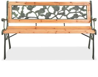 Charlton Home Wooden Bench Charlton Home