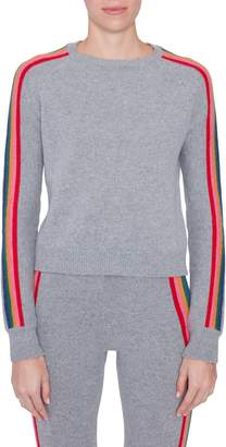 Allude Cashmere Rainbow Stripe Sweater