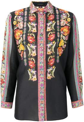 Etro embroidered bohemian flowers