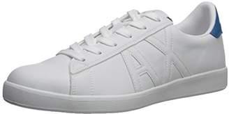 Armani Exchange A|X Men's Tonal Logo Low Cut Sneaker
