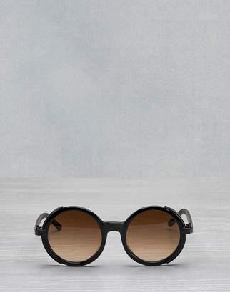 Belstaff Monaco Round Sunglasses Black