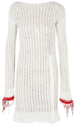 Aviu Off White Open-knit Jumper