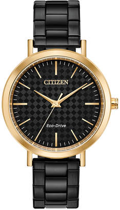 Citizen Drive From Eco-Drive Women Black Stainless Steel Bracelet Watch 36mm