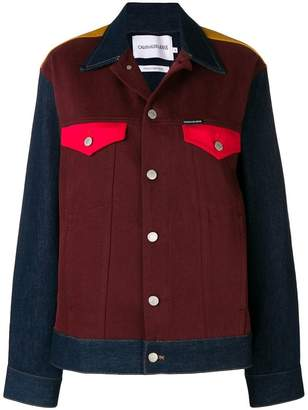Calvin Klein Jeans colour block denim jacket
