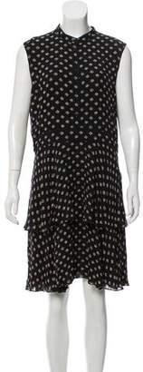 Tory Burch Silk Printed Knee-Length Dress