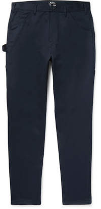 A.P.C. Tapered Cotton Trousers