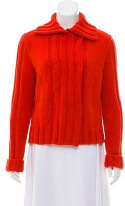 Philosophy di Alberta Ferretti Wool Button-Up Cardigan