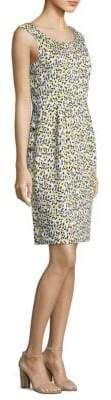 Escada Derani Lemon-Print Dress