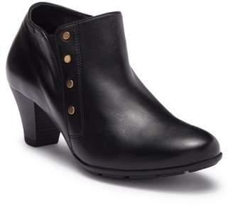 Mephisto Bianka Studded Leather Block Heel Bootie