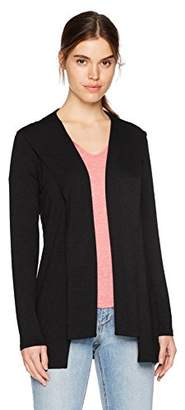 Michael Stars Women's Elevated French Terry Draped Hoodie