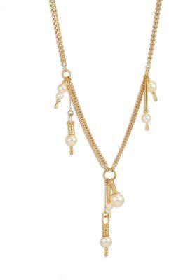 Chloé Chloe Kay Faux-Pearl Chain Necklace