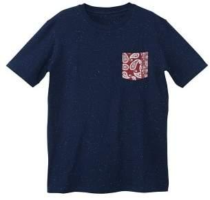 Mango man MANGO MAN Contrast chest-pocket t-shirt